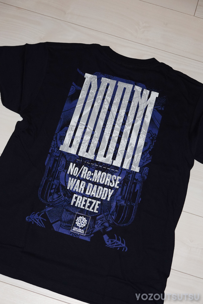 DOOM「No/Re:MORSE」ツアーTシャツ