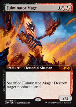 大爆発の魔道士/Fulminator Mageのボックストッパー拡張アート