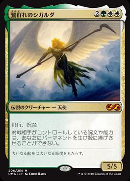 鷺群れのシガルダ/Sigarda, Host of Herons
