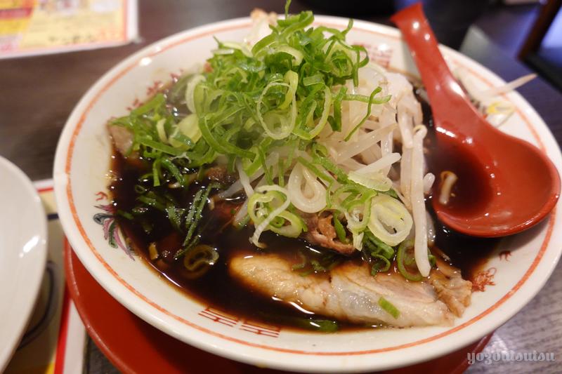 新福菜館の中華そば