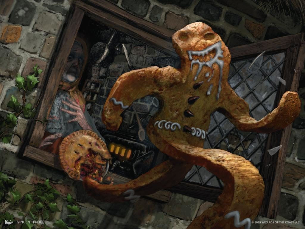 The Gingerbread man meets Eldraine.