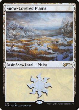 《冠雪の平地/Snow-Covered Plains》[Secret Lair]