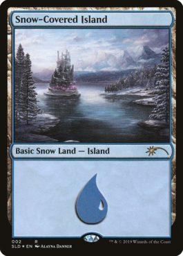 《冠雪の島/Snow-Covered Island》[Secret Lair]