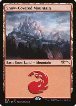 《冠雪の山/Snow-Covered Mountain》[Secret Lair]