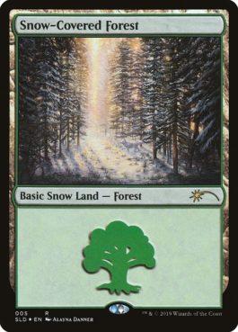 《冠雪の森/Snow-Covered Forest》[Secret Lair]