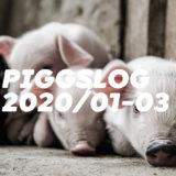 【PIGGS LOG】2020年1月〜3月のPIGGSの活動を振り返る【ネットニュースまとめ】