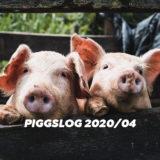 【PIGGS LOG】2020年4月のPIGGSの活動を振り返る【ネットニュースまとめ】