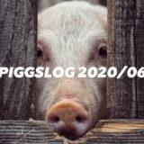 【PIGGS LOG】2020年6月のPIGGSの活動を振り返る【ネットニュースまとめ】
