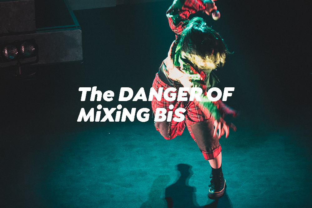TheDANGER OF MiXiNG BiSライブレポート写真あり